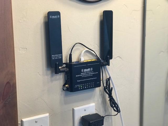 MOFI4500 For Unlimited 4G LTE Rural Internet
